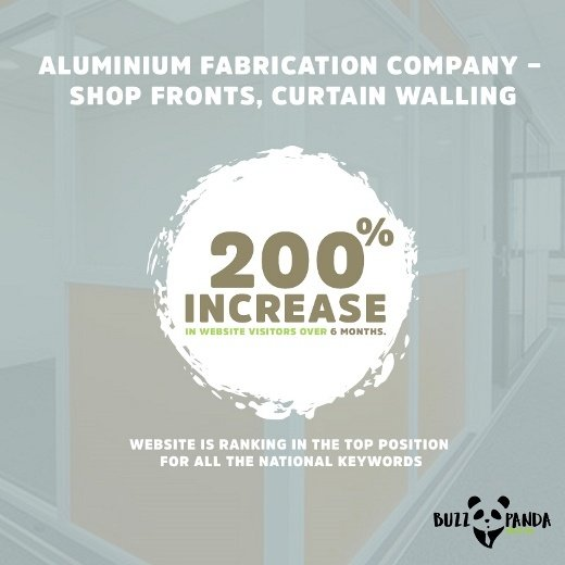 Aluminium Fabrication Company – shop fronts, curtain walling
