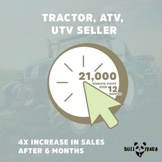 Tractor, ATV, UTV seller